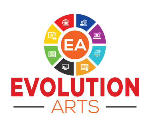 Graphic Designs & Logo Design: Evolution Arts is where technology and art collides.  Zakiya Davidson did an amazing job with improving our logo.  Logo design done awesomely by Zakiya Davidson.